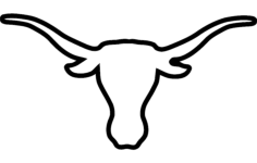 longhorns Free Gcode .TAP File for CNC