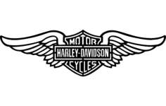 harley wings Free Gcode .TAP File for CNC