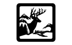 deer 00 1 Free Gcode .TAP File for CNC
