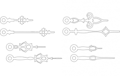 strelki (arrows) Free Gcode .TAP File for CNC