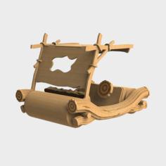 flintstones car Free Gcode .TAP File for CNC