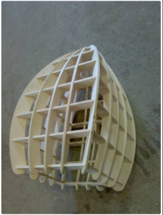 square lamp Free Gcode .TAP File for CNC