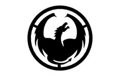 dragon circle Free Gcode .TAP File for CNC
