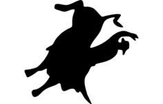 bull rider 1 Free Gcode .TAP File for CNC