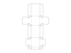 packing box Free Gcode .TAP File for CNC