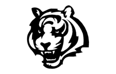 bengals Free Dxf File for CNC
