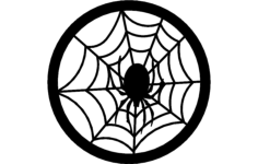 spider web Free Dxf File for CNC
