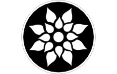 floral design Free Dxf File for CNC