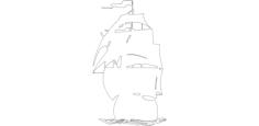 fregataFree Dxf File for CNC