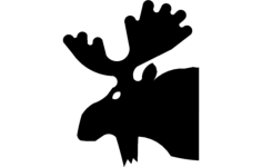 moose 3 Free Dxf File for CNC