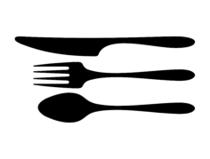 flatware Free Dxf File for CNC