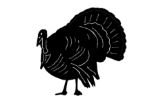 turkey Free Dxf File for CNC