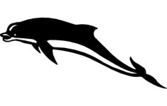 dolphin  2 Free Dxf File for CNC