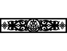 design och 0013 Free Dxf File for CNC