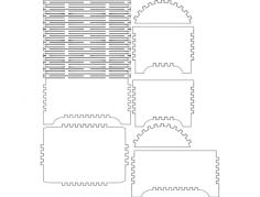 bau Free Dxf File for CNC