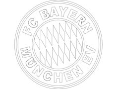 bayern 1 Free Dxf File for CNC