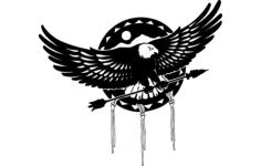 aguia (eagle) Free Dxf File for CNC
