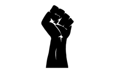 power fist Free Dxf File for CNC
