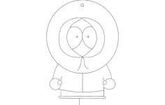 30 kenny Free Dxf File for CNC
