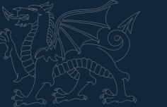 welsh dragon Free Dxf File for CNC