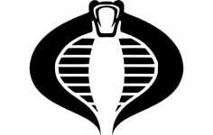 cobra 2 Free Dxf File for CNC