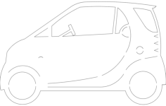 smartcar Free Dxf File for CNC