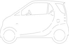 smartcar Free Dxf File for CNC