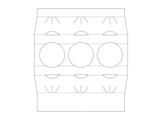 packaging designs Free Dxf File for CNC