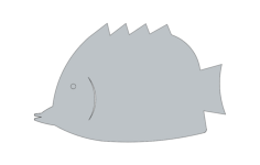 fish sm 8 Free Dxf File for CNC
