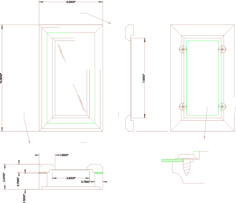 humidor Free Dxf File for CNC