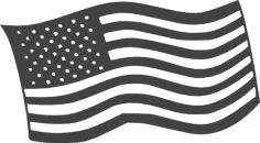 free american flag Free Dxf File for CNC