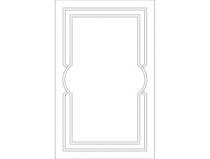 istek kapak 1 Free Dxf File for CNC