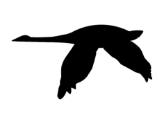goose Free Dxf File for CNC