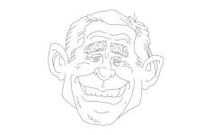 president Free Dxf File for CNC