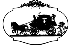 horse carriage Free Dxf File for CNC