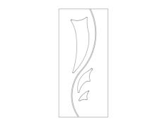 samet ayyıldız kapı Free Dxf File for CNC