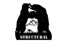 dancing bears structural Free Dxf File for CNC