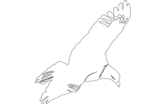 aguia Free Dxf File for CNC