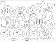 harley 2 Free Dxf File for CNC