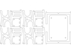 tischFree Dxf File for CNC