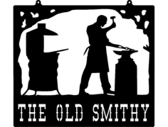 old smithy Free Dxf File for CNC