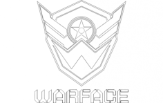 warface Free Dxf File for CNC
