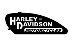 harley gas tank Free Dxf File for CNC