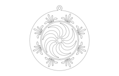 first ring Free Dxf File for CNC