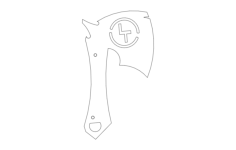 lt battle axe Free Dxf File for CNC