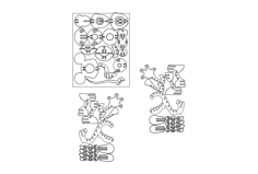 mickey Free Dxf File for CNC