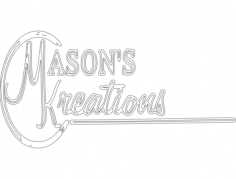 masons tst Free Dxf File for CNC