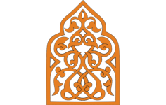 turkish ornament Free Dxf File for CNC