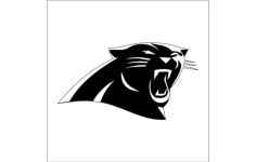 panthers Free Dxf File for CNC