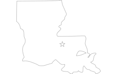 louisiana Free Dxf File for CNC
